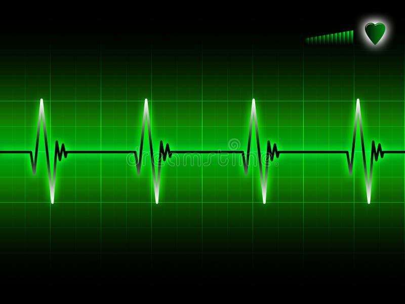 ECG vector illustration