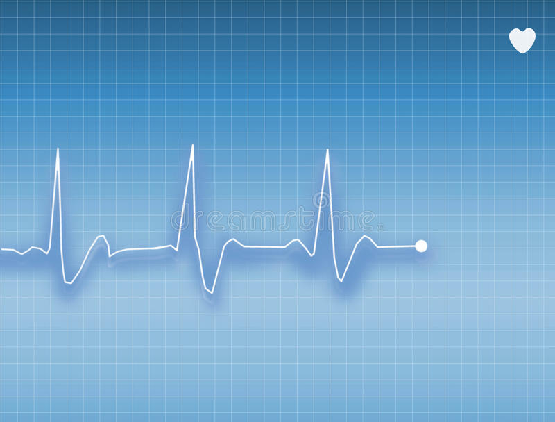 ECG stock illustration
