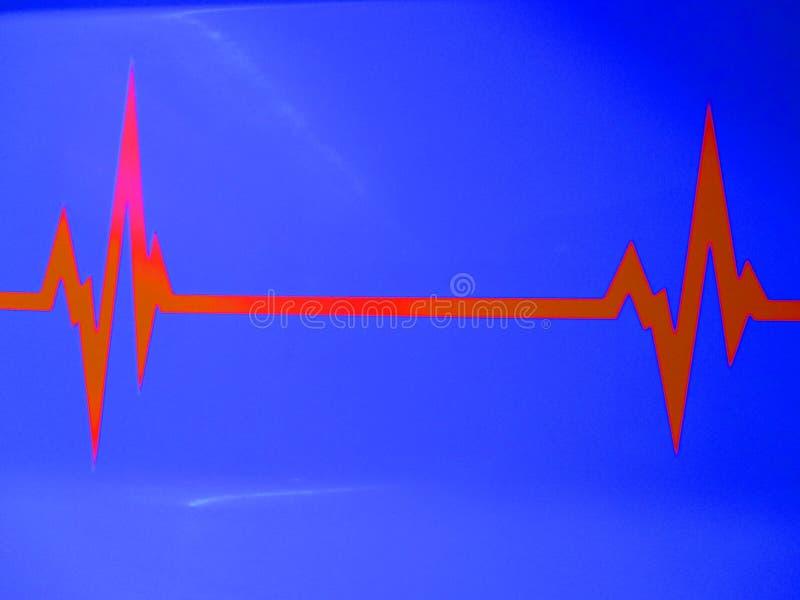 ECG del electrocardiograma foto de archivo