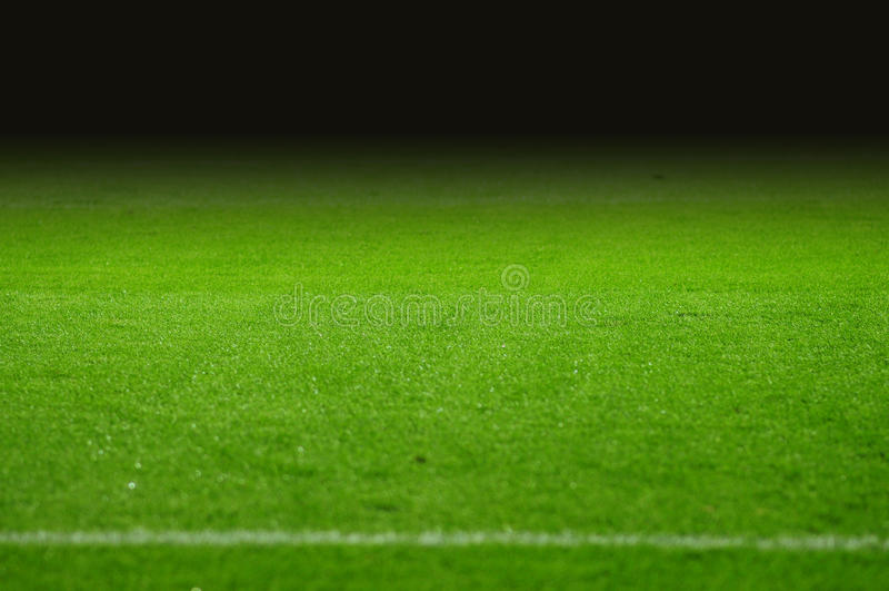 Echada del fútbol fotografía de archivo
