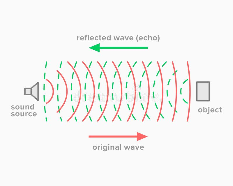 Echo, Acoustic Phenomenon Of Sound Reflection Stock Vector - Illustration  of diagram, school: 179891678Dreamstime.com