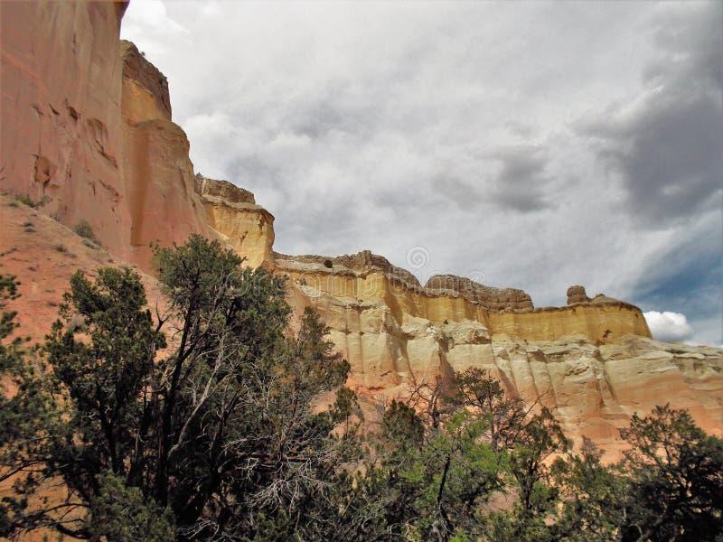 Echo Amphitheater Cliffs stock foto