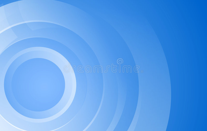 Echo circles vector illustration