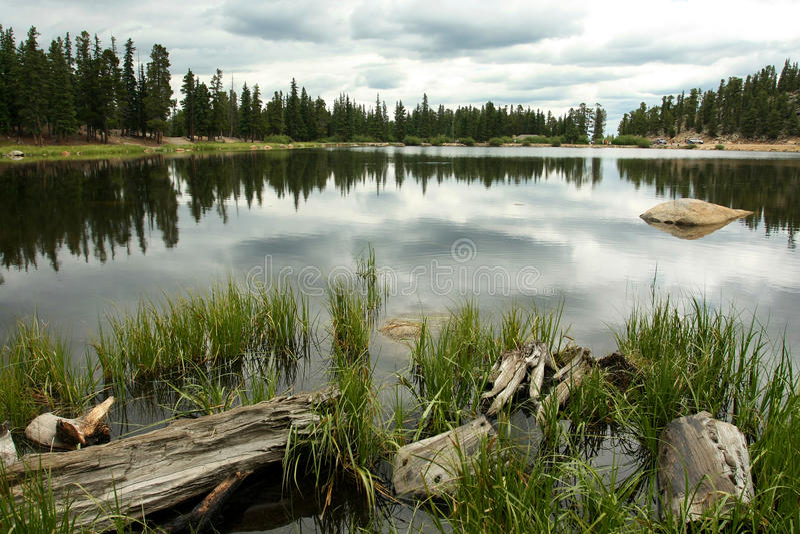 Echo Lake stockfoto