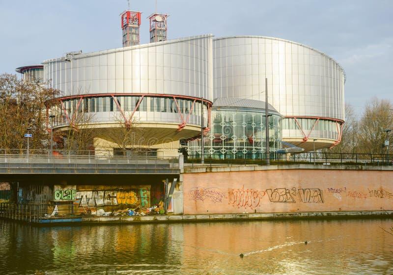 ECHR欧洲人权法院 库存图片