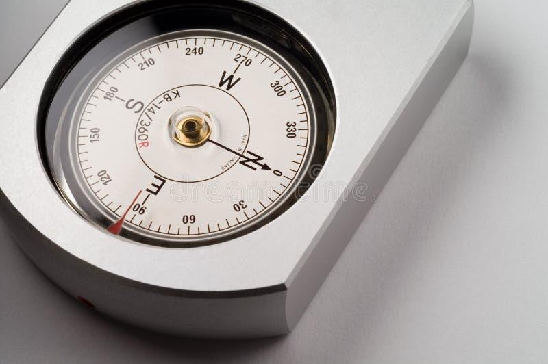 Echt dragend kompas royalty-vrije stock foto