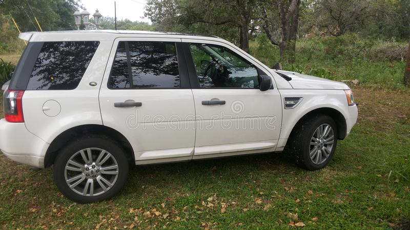 Echt Land Rover royalty-vrije stock foto