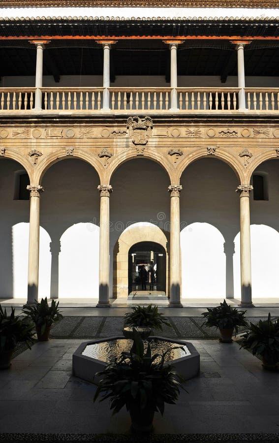 Echte het ziekenhuis, Granada, Andalusia, Spanje royalty-vrije stock afbeeldingen