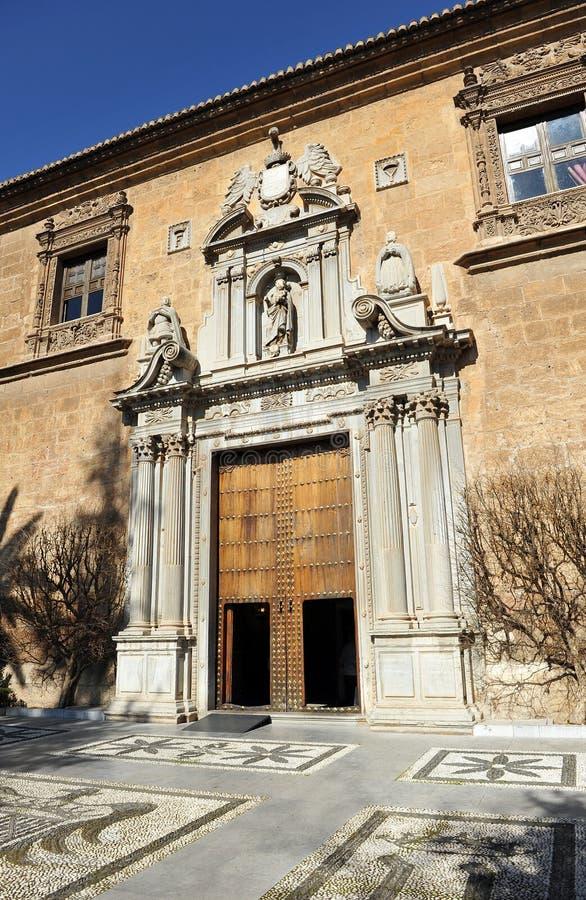 Echte het ziekenhuis, Granada, Andalusia, Spanje royalty-vrije stock fotografie