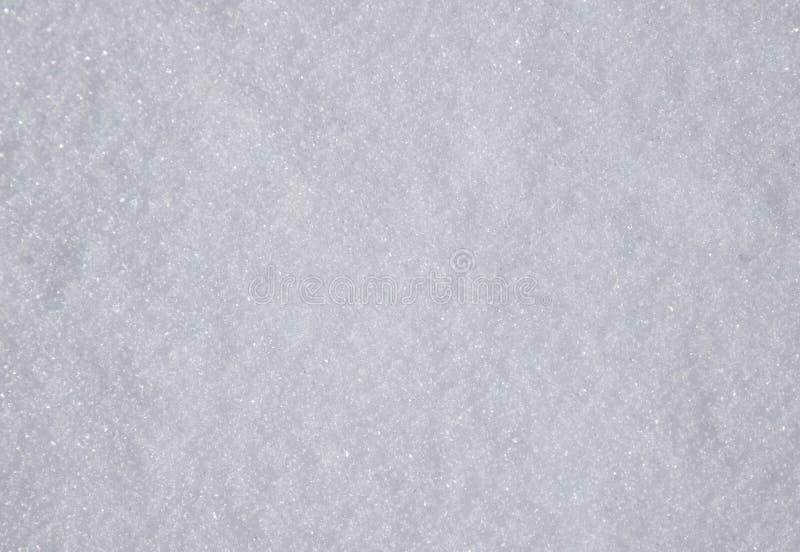 Echte sneeuwachtergrond stock foto's