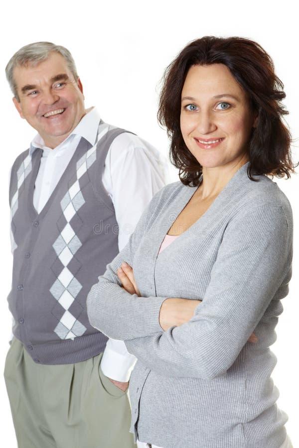 Echtgenoot en vrouw royalty-vrije stock fotografie