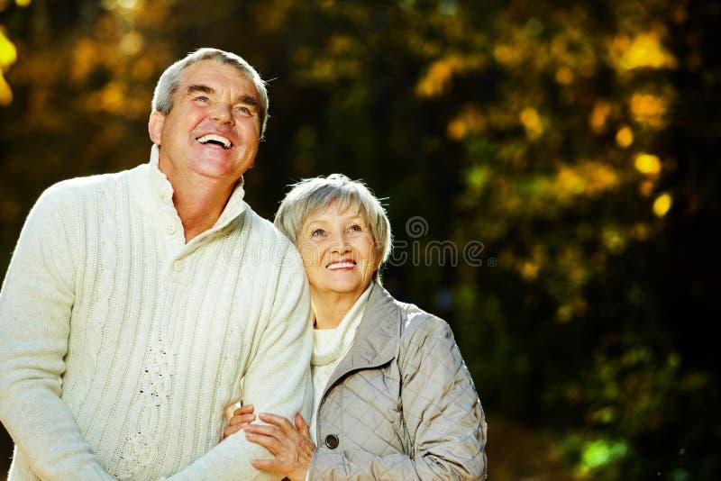 Echtgenoot en vrouw royalty-vrije stock afbeelding