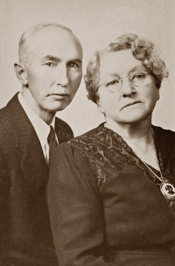 Echtgenoot en Vrouw stock afbeelding