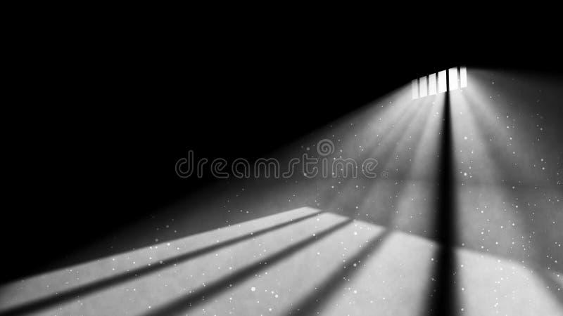 Eckgefängnis-Fenster-Licht vektor abbildung