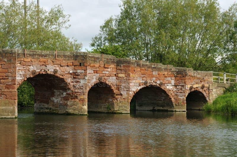 Eckington Brücke stockfotografie