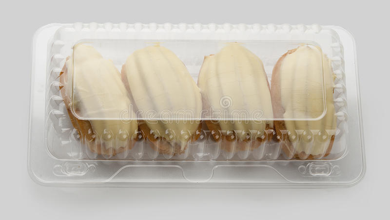 Eclairs obrazy stock