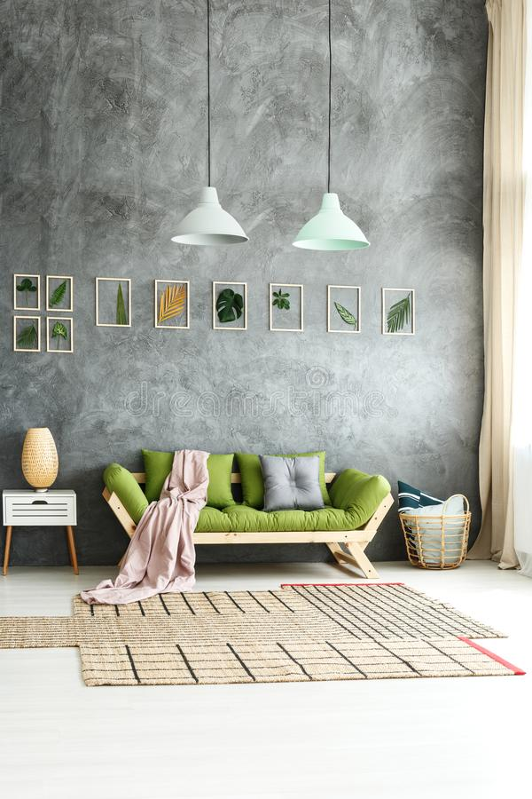 Free Eclectic Home With Earthy Design Stock Image - 104769681