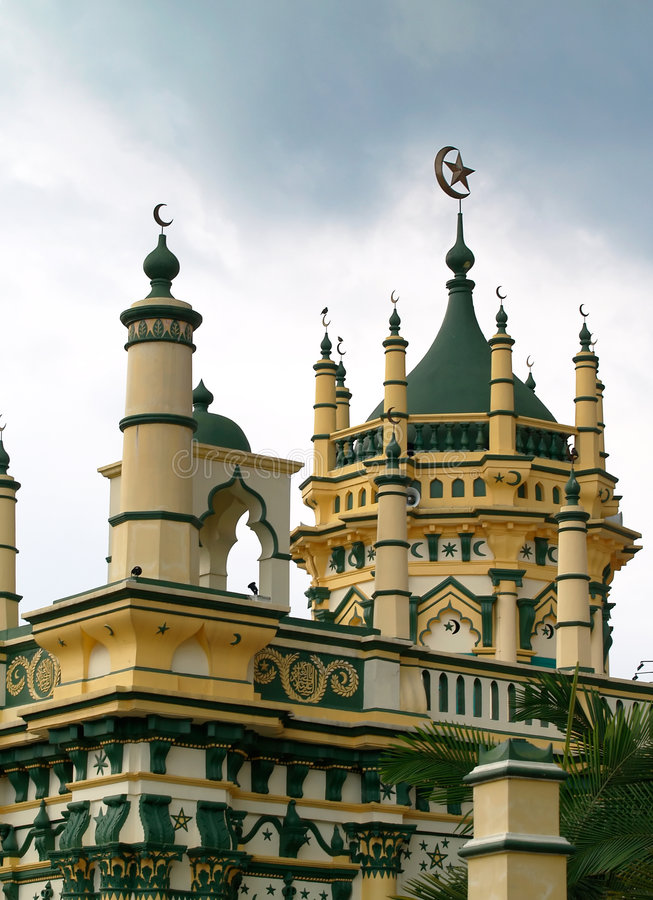 Download Eclectic Mosque Royalty Free Stock Photo - Image: 3253505