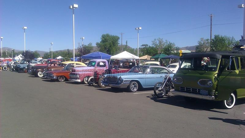 Eclectic at the Rat Rod Auto show in Sparks NV royalty free stock photography