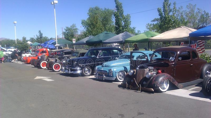 Eclectic VW at the Rat Rod Auto show in Sparks NV stock photo