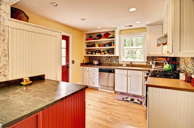 Eclectische keuken royalty-vrije stock afbeeldingen