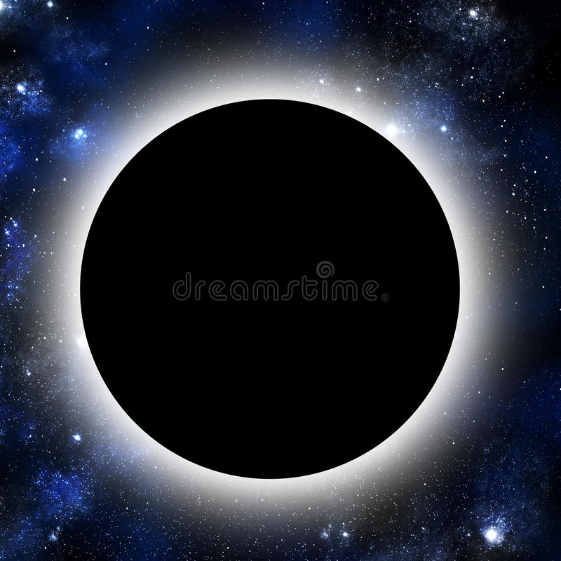 Download Eclipse stock illustration. Image of galaxy, eclipse - 17090171