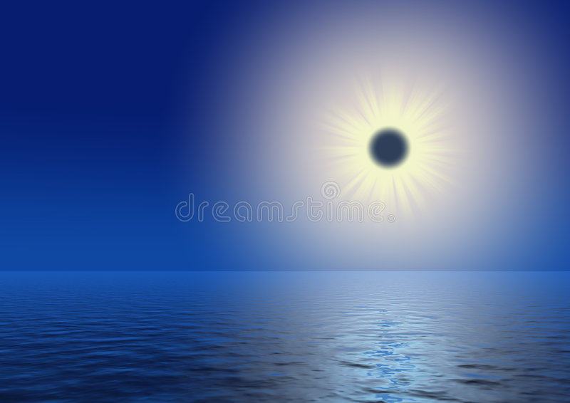 Eclipse stock illustration