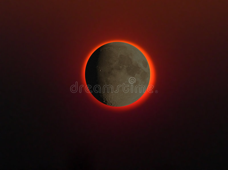 Download Eclipse stock image. Image of moon, blot, outdo, satalite - 25657