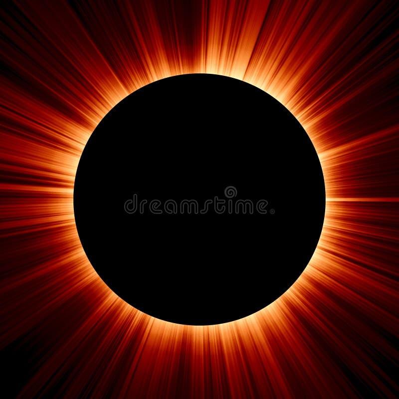 Eclipse illustrazione di stock