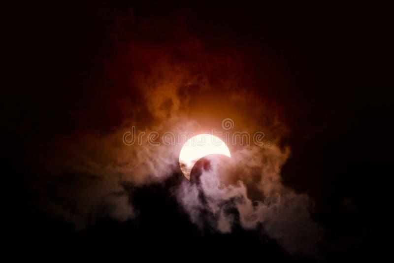 Eclipse fotografia de stock