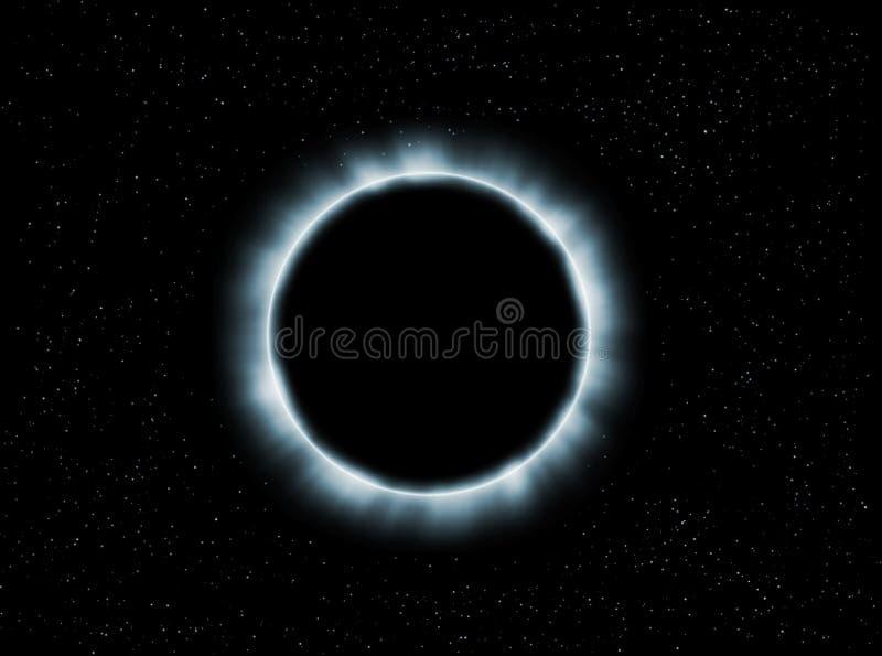 Eclipse ilustración del vector