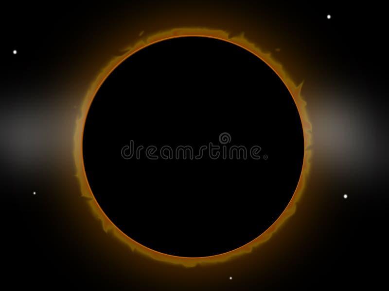Download Eclipse stock illustration. Illustration of galaxy, solar - 5012315
