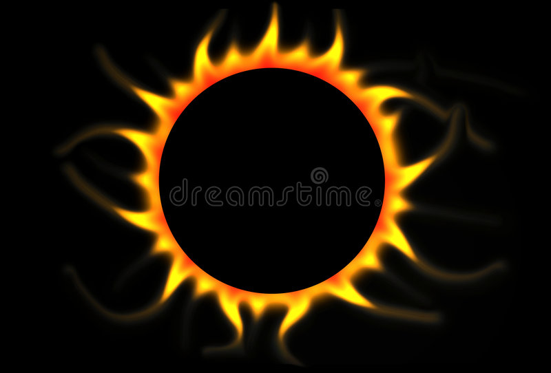 Eclipse Royalty Free Stock Photo