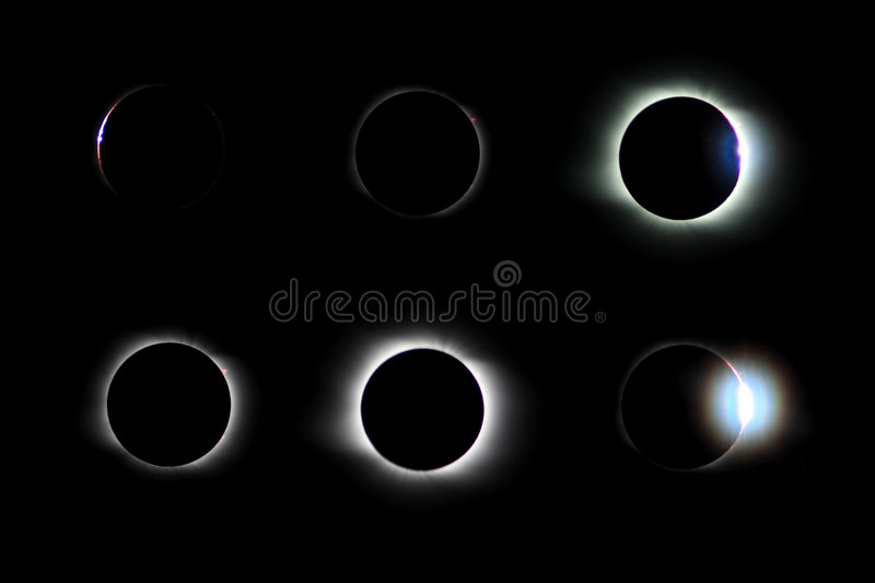 Eclipse fotografia stock