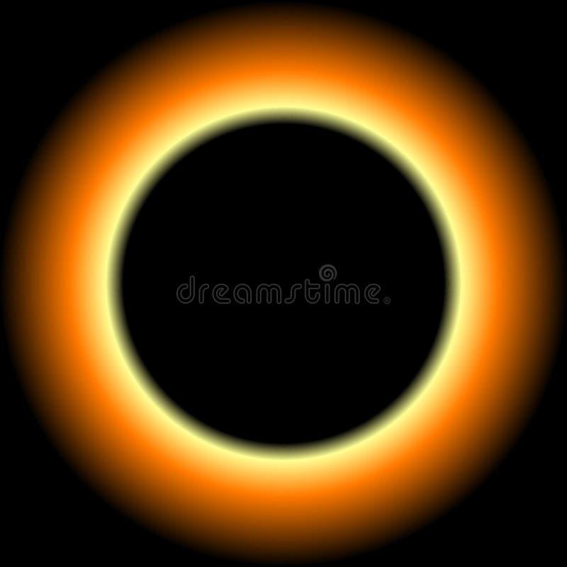 Eclipse foto de archivo