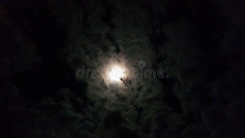 Eclipse da Lua cheia imagem de stock