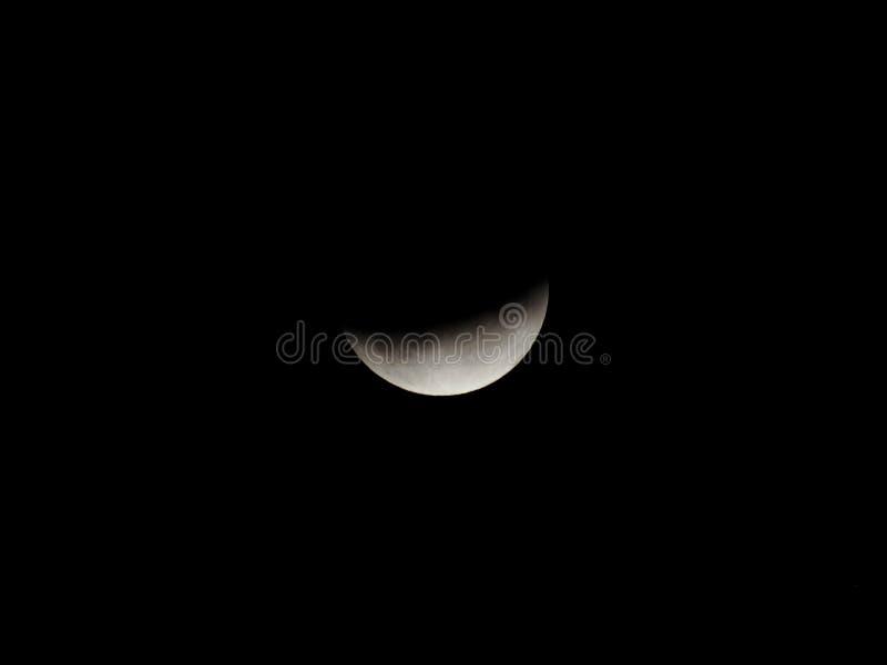 Eclipse da lua fotografia de stock royalty free