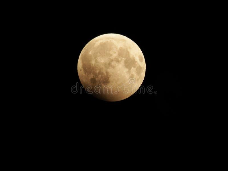 Eclipse de la luna imagen de archivo
