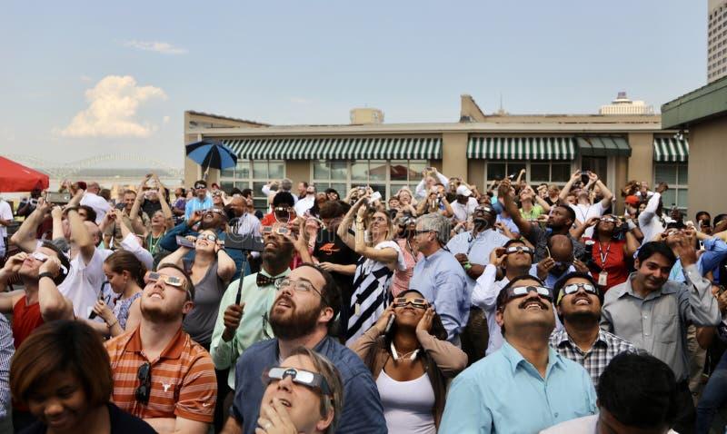 Eclipse Unites America stock photography