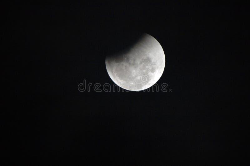 Eclipse lunar imagens de stock royalty free