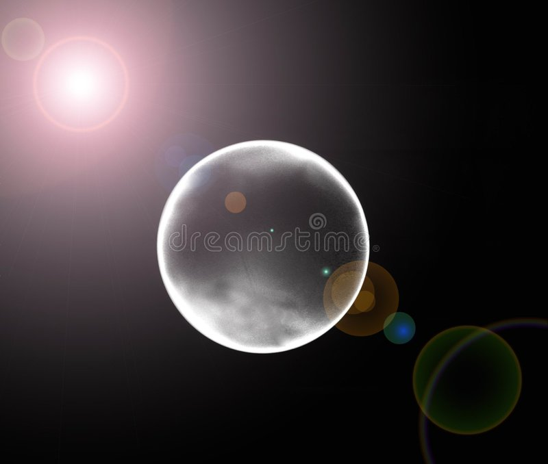 eclipse moon απεικόνιση αποθεμάτων