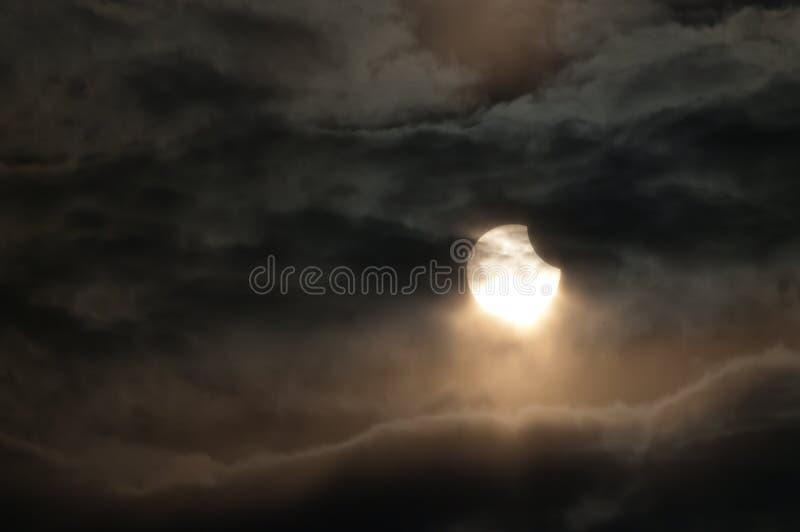 Eclipse solar fotos de archivo libres de regalías