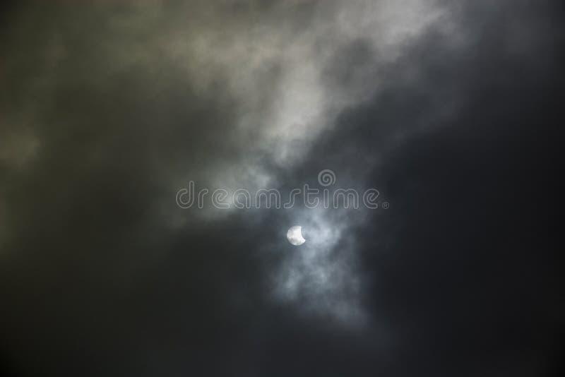 Eclipse solar imágenes de archivo libres de regalías