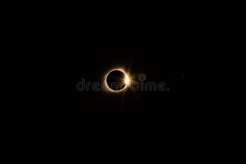 Eclipse solar fotos de archivo