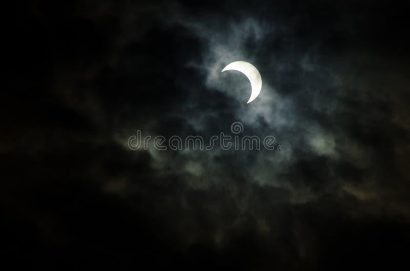 Eclipse solar anular, japão, 2012 fotos de stock