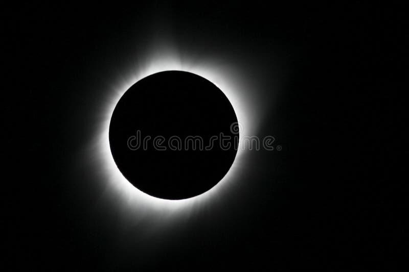 Eclipse solar del 21 de agosto de 2017 imagen de archivo
