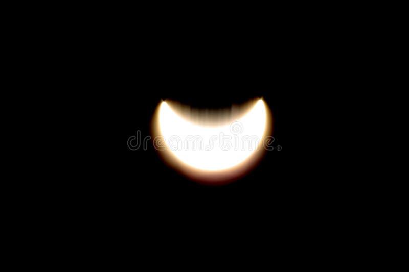 Eclipse solar EPS 2 ilustración del vector