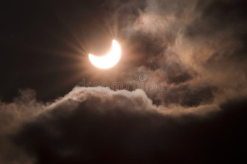Eclipse solare 5 immagini stock libere da diritti