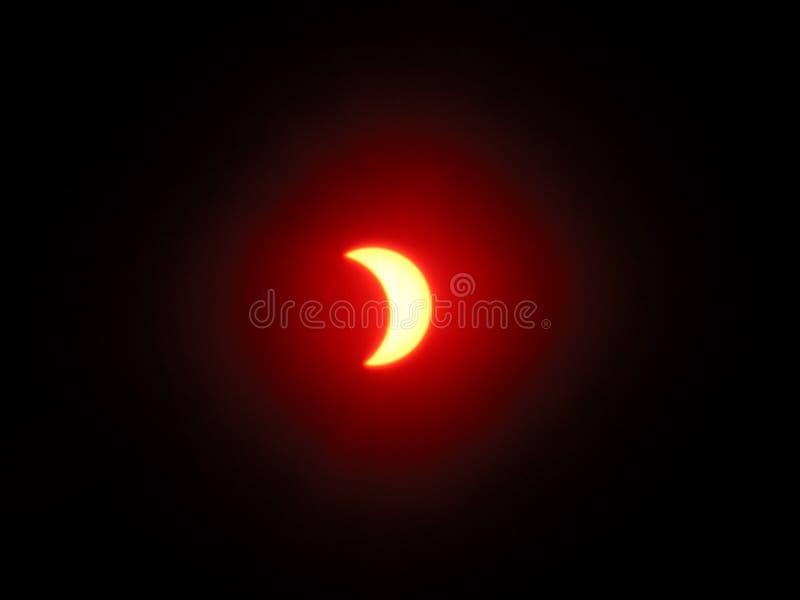 Eclipse solare 6 fotografie stock libere da diritti