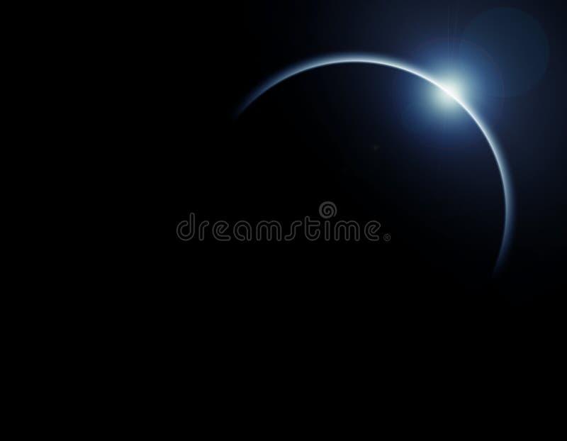 Eclipse solare royalty illustrazione gratis